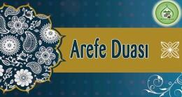 Arefe Duası (Arapça – Türkçe)