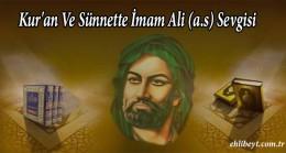 Kur'an Ve Sünnette İmam Ali (a.s) Sevgisi